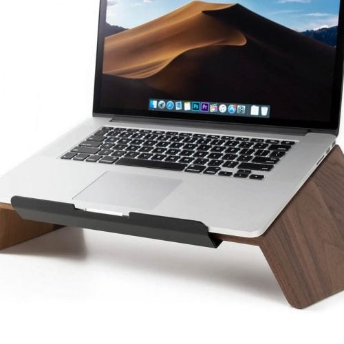 Drewniana podstawka pod Laptopa