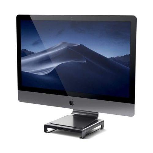 Satechi Type C Aluminum Monitor Stand Hub