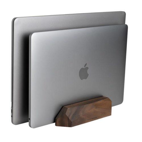 podwójny pionowy stojak na laptopa