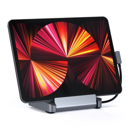 Satechi Aluminum Stand & Hub for Ipad Pro